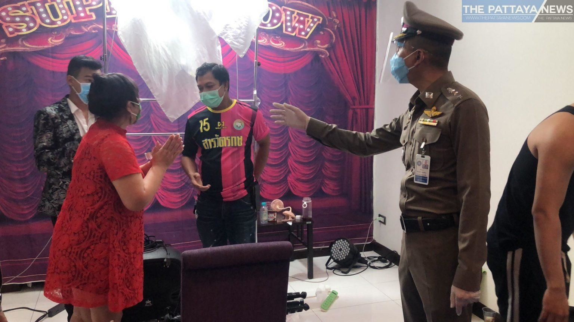 Chon Buri police raid late night 'ladyboy' cam show, arrest dozens - VIDEO | News by Thaiger