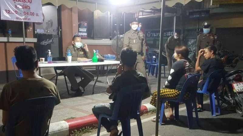 Police say most Chiang Mai curfew violators drunk | Thaiger
