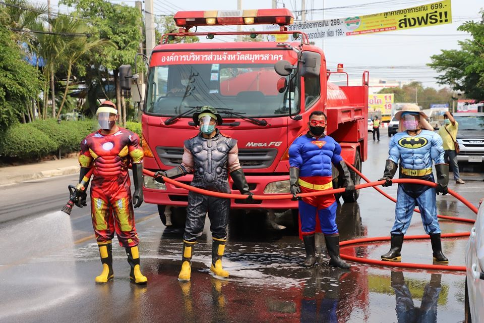 Move over WHO and CDC, Marvel and DC have joined the fight in Thailand   The Thaiger