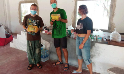 Broke and stranded, Russian tourists take shelter in Phuket temple | The Thaiger