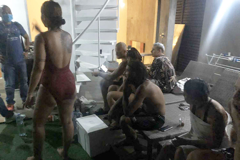 Phuket rooftop party busted, drugs seized | News by Thaiger