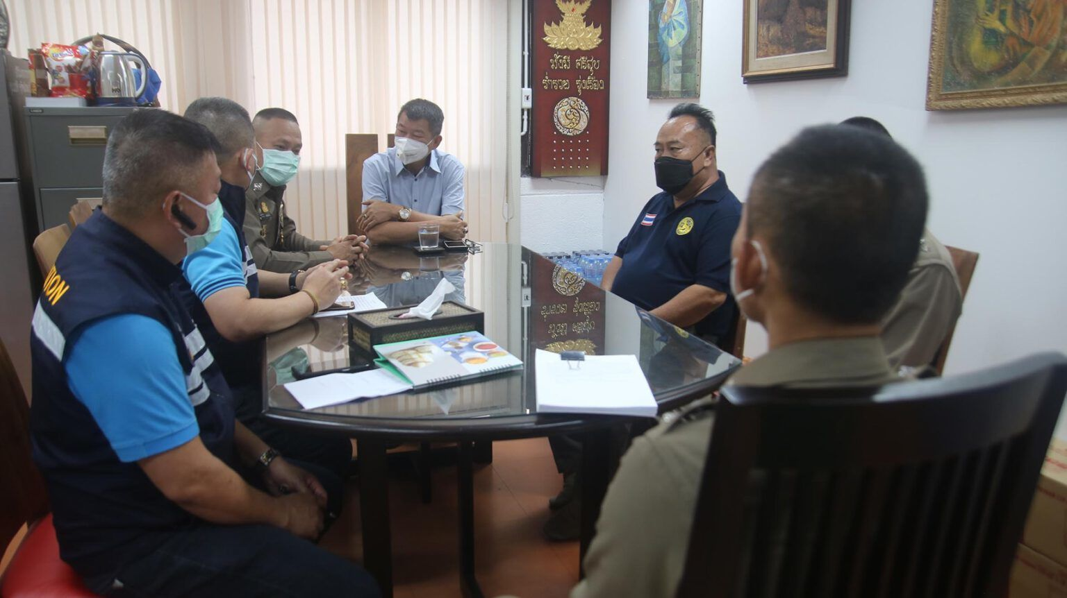 Germans arrested for removing coronavirus barrier in Chiang Mai | News by Thaiger