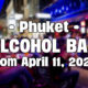 Alcohol Ban in Phuket, from today (Saturday) | Thaiger