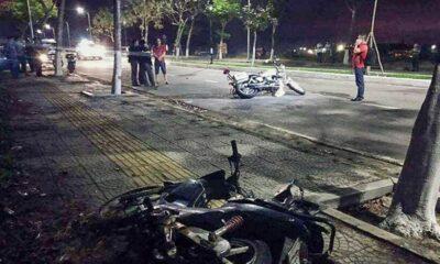 Đà Nẵng: Quyết định khởi tố nhóm đua xe khiến hai cảnh sát hy sinh | The Thaiger