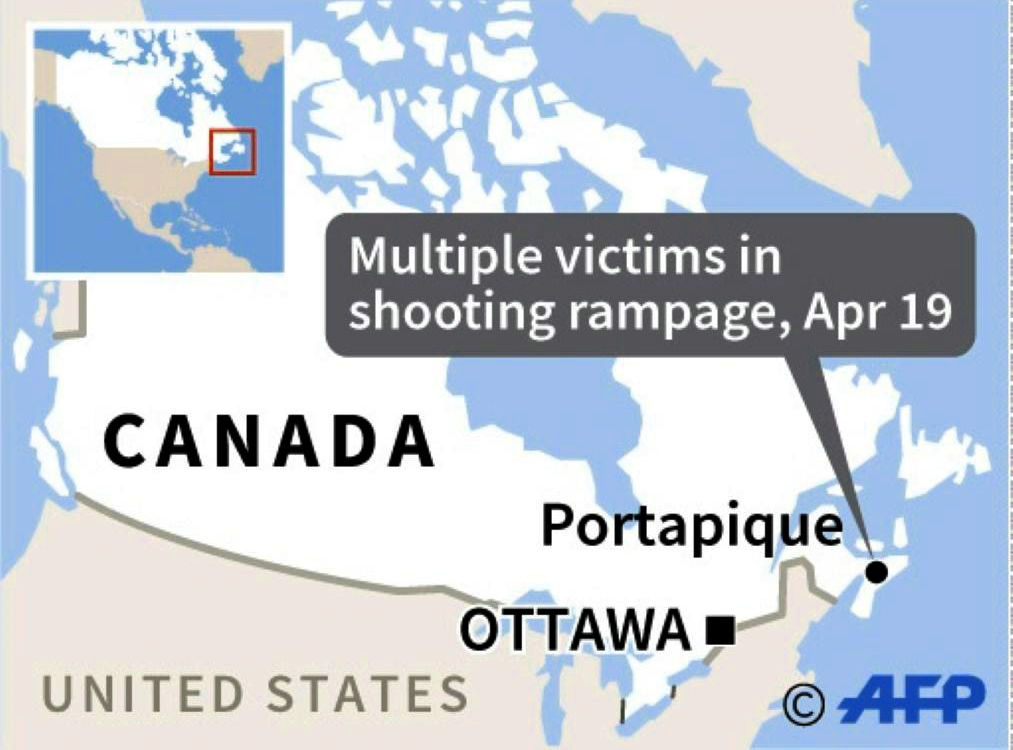 At least 18 dead in Canada's worst-ever mass shooting | News by Thaiger