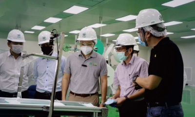 CP Group delivers first 100,000 masks from its new factory   Thaiger