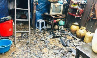 Vùng núi phía Bắc: Trận mưa đá, giông lốc làm 3 người chết, nhiều nhà dân vỡ nát, thiệt hại gần 42 tỷ đồng   Thaiger