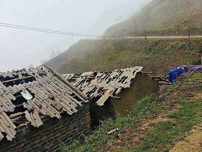 Vùng núi phía Bắc: Trận mưa đá, giông lốc làm 3 người chết, nhiều nhà dân vỡ nát, thiệt hại gần 42 tỷ đồng | News by Thaiger