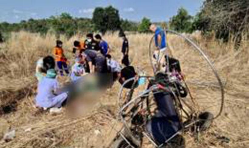 Paramotor crash in Chonburi kills British man   News by Thaiger