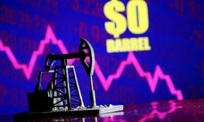 SỐC: Giá dầu thô thế giới rớt thê thảm xuống mức âm | The Thaiger
