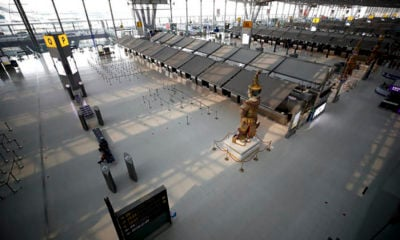 UPDATE: Scheduled passenger flight ban extended until end of May | The Thaiger