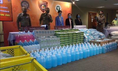 BIG arrest on price gouging of Covid-19 safety gear and fake test kits | The Thaiger