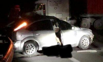 Thái Bình: Tai nạn giữa xe container và ô tô 4 chỗ khiến một quân nhân tử vong | Thaiger