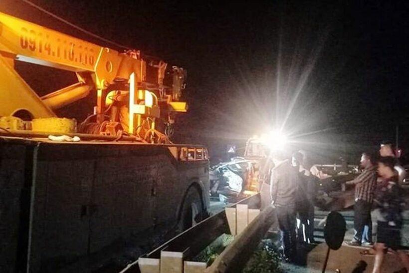Thái Bình: Tai nạn giữa xe container và ô tô 4 chỗ khiến một quân nhân tử vong | News by Thaiger