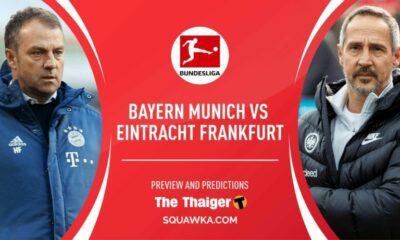 Lịch thi đấu bóng đá hôm nay 23/5: Trực tiếp Bayern Munich vs Eintracht Frankfurt. Lịch thi đấu và link xem trực tiếp bóng đá Đức Bundesliga | The Thaiger