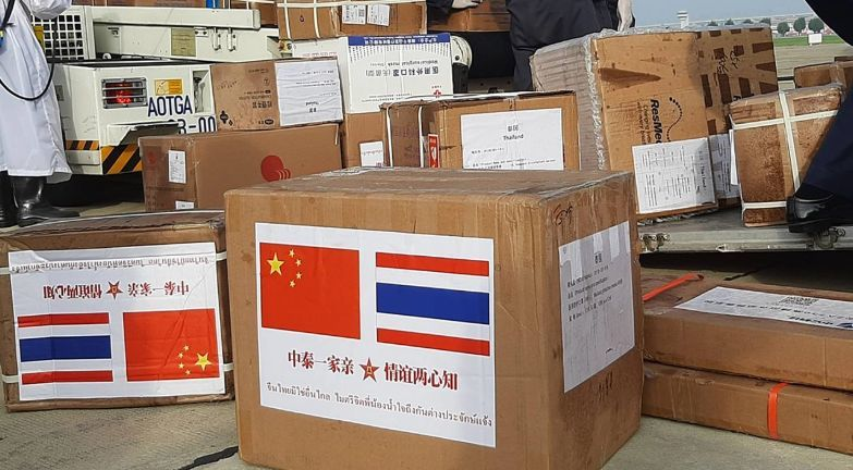 Thailand receives 30 million baht shipment of medical PPE from China | News by Thaiger