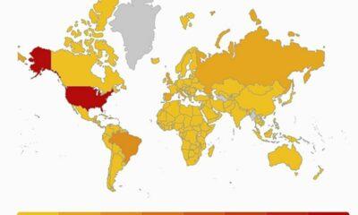12 quốc gia và vùng lãnh thổ chưa ghi nhận ca nhiễm Covid-19 | Thaiger