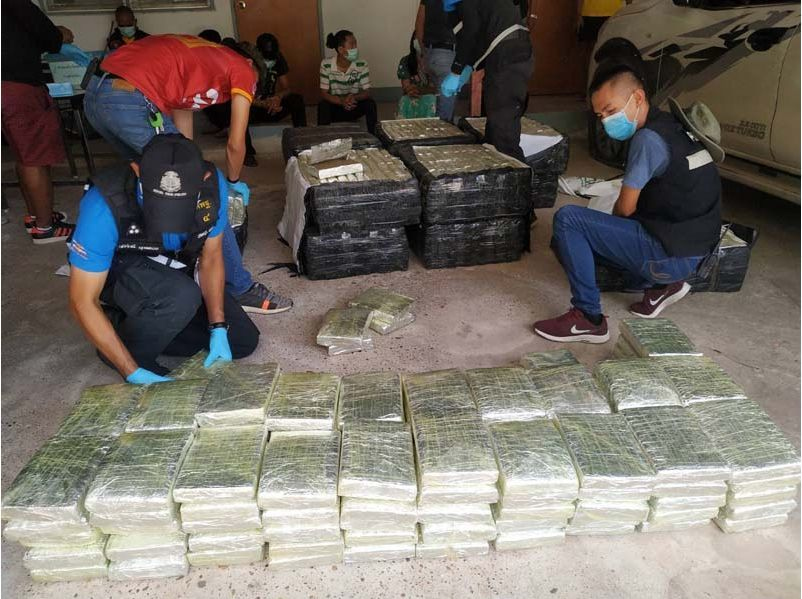 Marijuana valued at over 6 million baht seized in Mukdahan | News by Thaiger