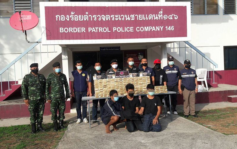 Millions of baht worth of cigarettes seized after smuggled over Burmese border | Thaiger