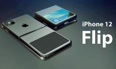 Ngắm nhìn thiết kế iPhone 12 Flip màn hình gập độc đáo, đầy mê hoặc | The Thaiger