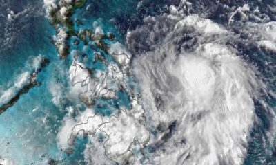 'Vongfong' heads northwest along Philippines coast | The Thaiger