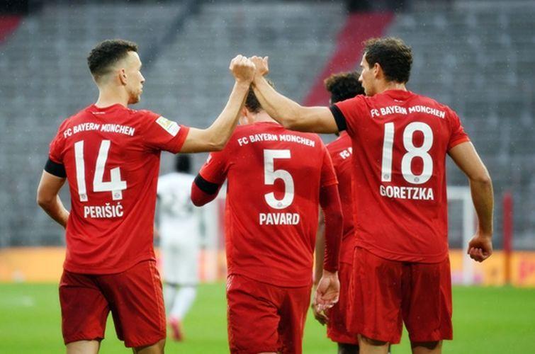 Highlight trận đấu Bayern vs Frankfurt: Bayern Munich tái lập khoảng cách 4 điểm với Dortmund   News by Thaiger