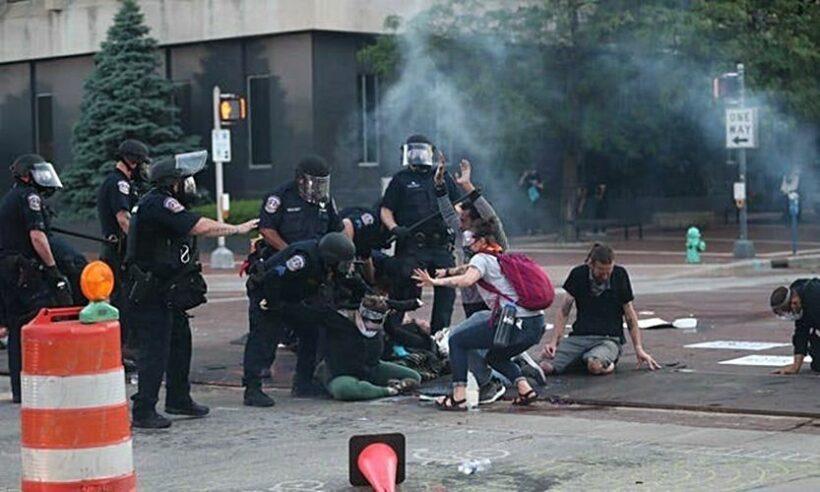Biểu tình tại Mỹ: Nữ phóng viên bị bắn mù mắt khi đang tác nghiệp | News by The Thaiger