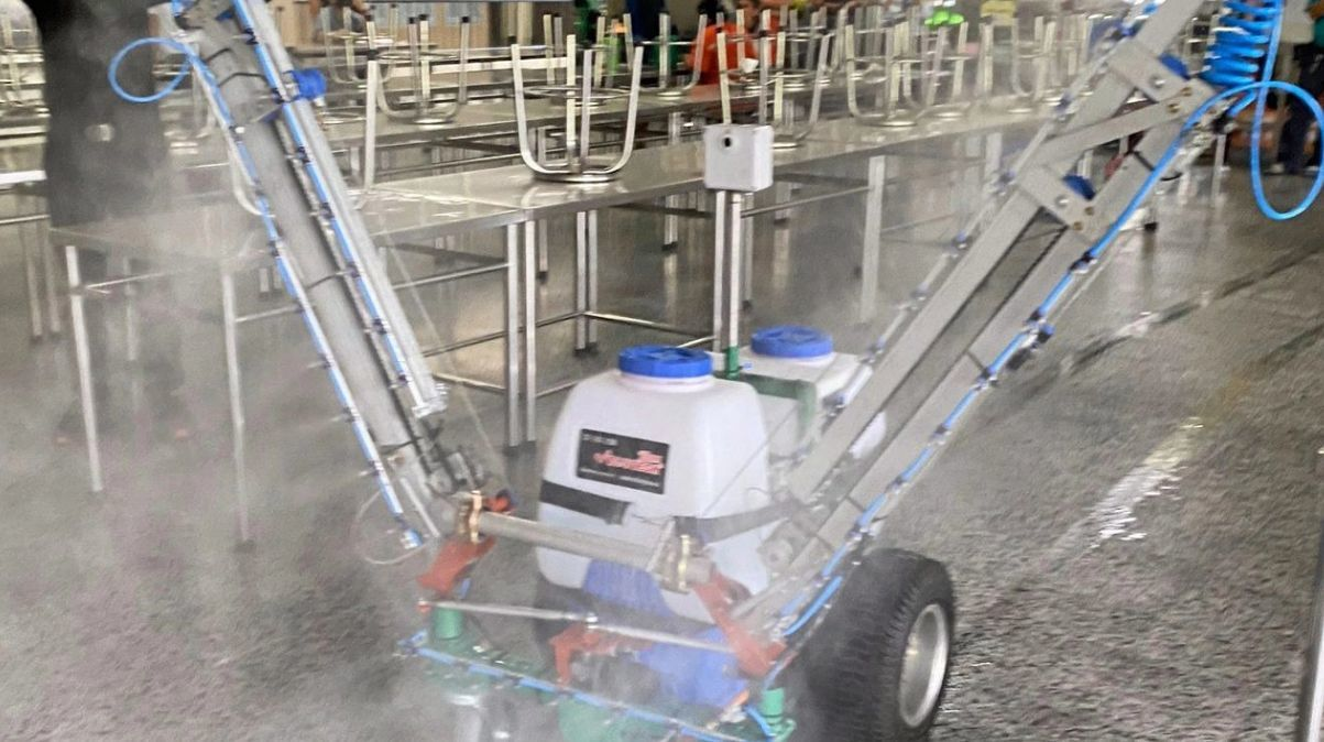 Agricultural robot modified to provide biohazard clean-ups | News by Thaiger