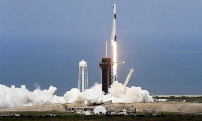 SpaceX phóng thành công tàu vũ trụ chở người lên trạm ISS, mở ra kỷ nguyên du hành không gian thương mại | Thaiger