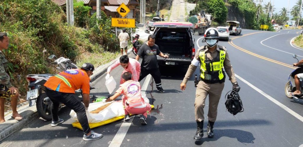 54 Covid-19 deaths compared to 26,000 road deaths | The Thaiger