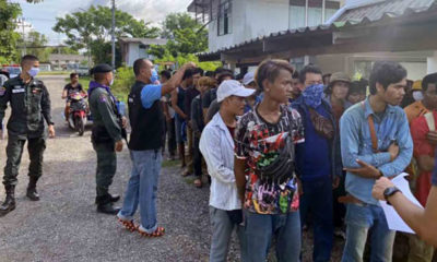 Immigration police catch 54 illegal immigrants at Thai-Cambodia border | Thaiger