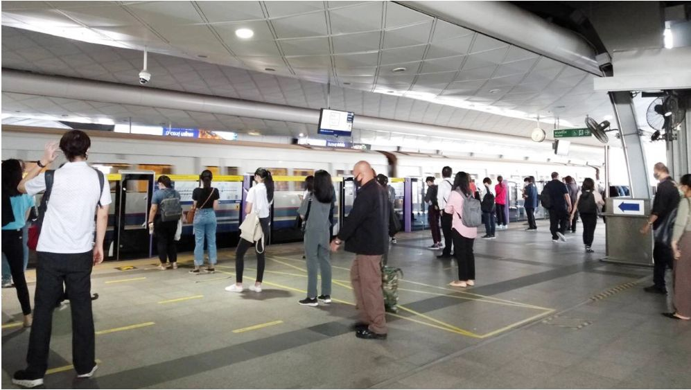 BTS and MRT roll out better preventative and social distancing measures   News by Thaiger