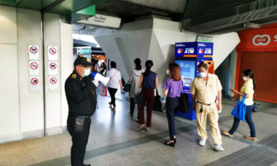 BTS and MRT roll out better preventative and social distancing measures | Thaiger