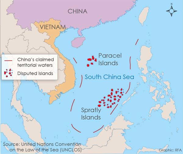 US ramps up presence in South China Sea along with coronavirus rhetoric | News by Thaiger