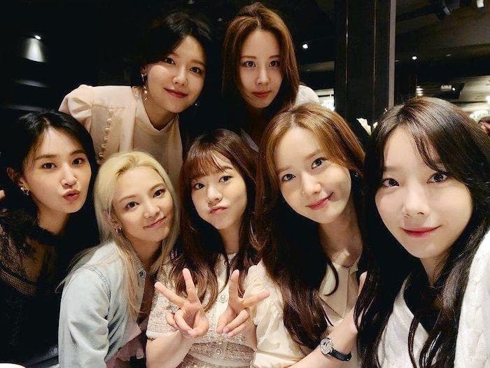 7 thành viên SNSD bất ngờ tái hợp, có hẳn sân khấu trình diễn siêu dễ thương   News by Thaiger
