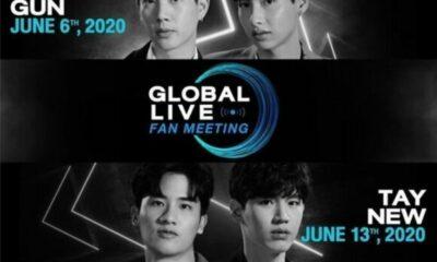 4 cặp mỹ nam đình đám GMMTV chuẩn bị đổ bộ 'Globle Live Fanmeeting' trực tuyến trên Vlive | Thaiger