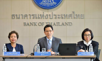 Thailand's economic forecast among Asia's worst: central bank governor to step down | Thaiger