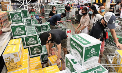 Mad dash for booze as alcohol ban lifted in most provinces – VIDEO | The Thaiger