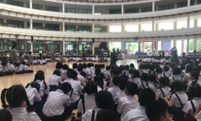 Students to wear mask, get temperature checked at school | The Thaiger