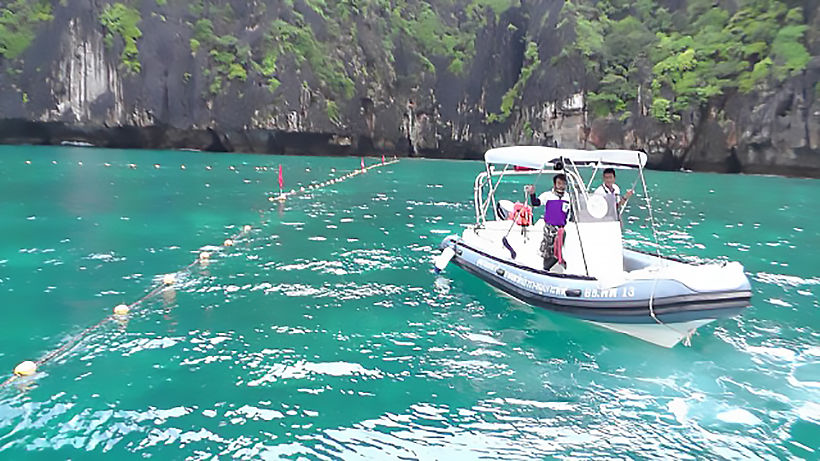 Phi Phi's Maya Bay won't reopen until fully rehabilitated   The Thaiger