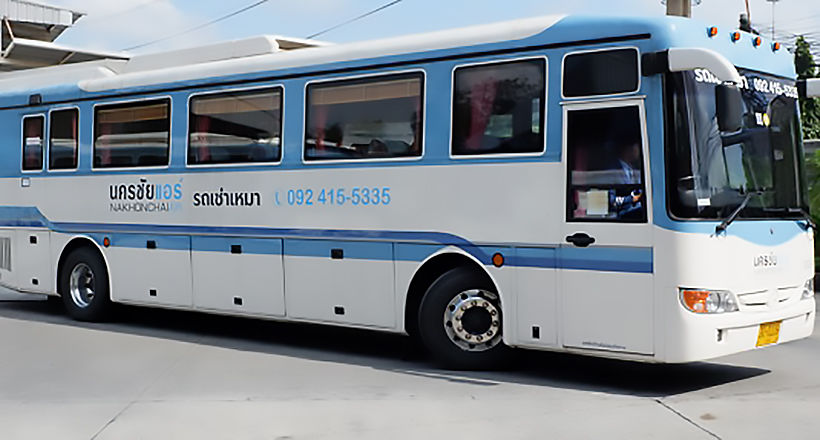 Nakhonchaiair to resume interprovincial bus services from Monday | The Thaiger
