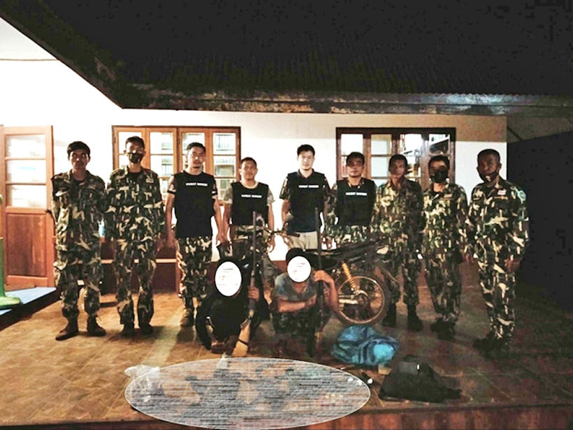 Alleged Burmese poachers arrested with carcasses of protected species   News by Thaiger