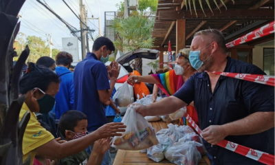 Samui singled out for community donation efforts | The Thaiger