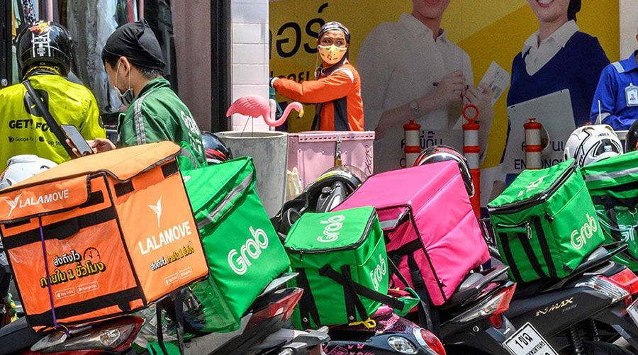 Rise of food delivery apps in Thailand exposes rights disparity | Thaiger