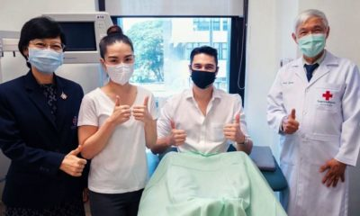 "Actor and singer Matthew ""Deane"" Chanthavanij, recovered from Covid-19, donates plasma 