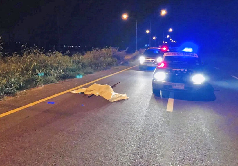 Chon Buri pedestrian dies in hit-and-run incident | The Thaiger