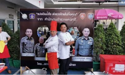 Pattaya police chief battles Thailand's Iron Chef in cook-off for the needy – VIDEO | The Thaiger