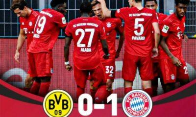 Highlights trận đấu Dortmund vs Bayern Munich (Vòng 28 giải VĐQG Đức Bundesliga) | Thaiger