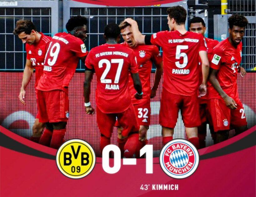 Highlights trận đấu Dortmund vs Bayern Munich (Vòng 28 giải VĐQG Đức Bundesliga)   The Thaiger