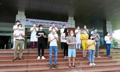 Cập nhật tình hình COVID-19 tại Việt Nam (Ngày T4 6/5): Không ghi nhận ca dương tính nCoV mới, chỉ còn 39 bệnh nhân điều trị | Thaiger